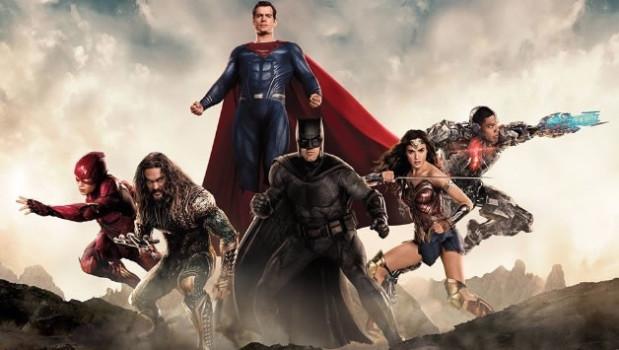 Heróis da Liga da Justiça ganham artes individuais