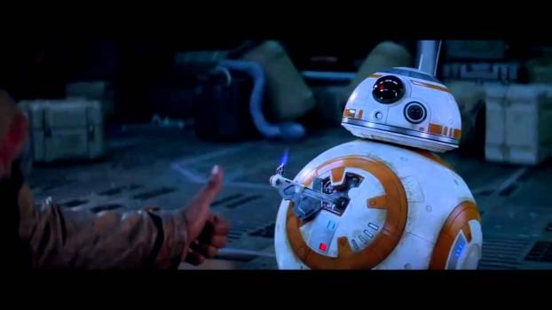 Encontro de mitos! Stan Lee e BB-8 juntos!