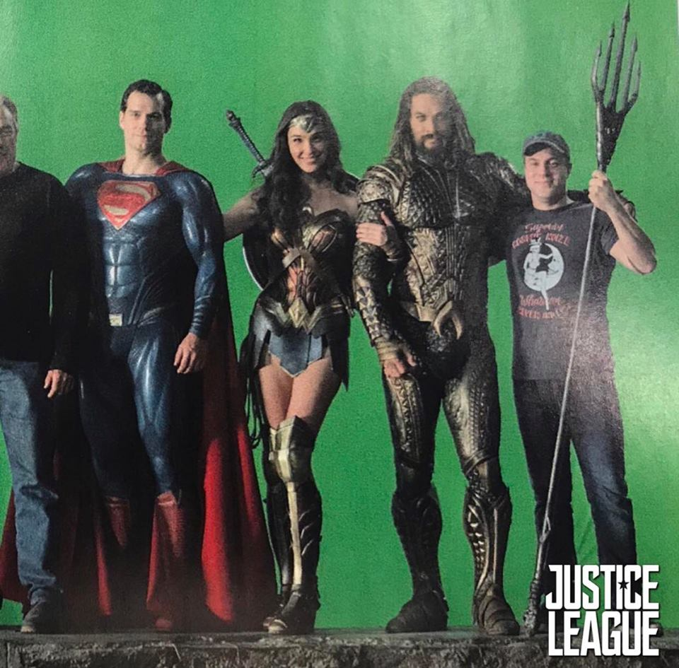 Actors Ben Affleck Amber Heard Henry Cavill And Jason: Superman Aparece Em Fotos De Bastidores De Liga Da Justiça
