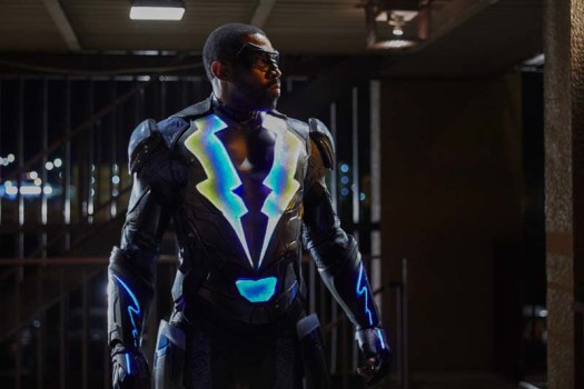 "Black Lightning -- ""Dark Matter of My Brain"" -- Image BLK101d_0100 -- Pictured: Cress Williams as Jefferson Pierce/Black Lightning -- Photo: Bob Mahoney/The CW -- © 2017 The CW Network, LLC. All rights reserved"