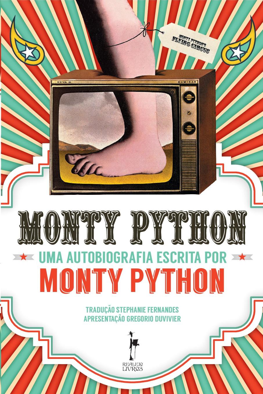 Monthy Python - Capa